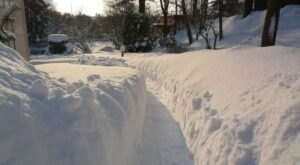The Great Blizzard Of 2011 Dumped 16 Inches Of Snow On Indiana