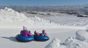 With 1,200-Foot Lanes, Utah's Largest Snowtubing Park Offers Plenty Of Space For Everyone