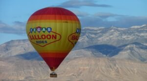 Sip On Champagne After Soaring Through The Sky On A Hot Air Balloon Ride In Nevada