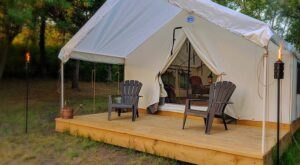 Wrap Yourself In Luxury At Hawley Farm Glamping In Missouri