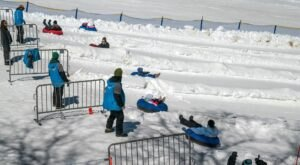 With 6 Lanes, Southern California's Largest Snow Tubing Park Offers Plenty Of Space For Everyone