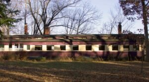 Spend The Night In A Historic Train Car Overlooking A Creek In Illinois