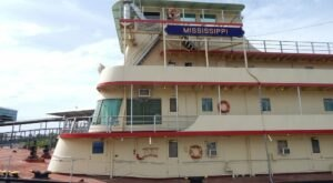 Hop Aboard A Real Motor Vessel Ship For An Adventure At The Lower Mississippi River Museum