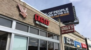 Home Of The 6-Pound Burger, Eagle's Deli In Massachusetts Shouldn't Be Passed Up