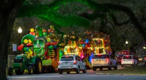Even Though Mardi Gras Was Cancelled, You Can Still Experience The Parade At Floats In The Oaks In Louisiana
