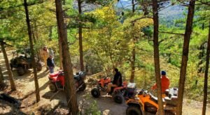 Rent A UTV In Arkansas And Go Off-Roading Through The Mountains And Waterfalls Of Wolf Pen Gap