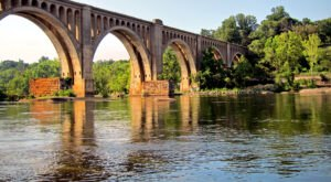 A Remarkable Bridge In Virginia, The James River Bridge Is A Historic Work Of Art