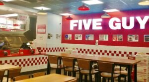 Americans Have Ranked Five Guys, A Virginia-Based Chain, As One Of The Best Burger Spots In The U.S.