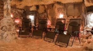 Relax All Your Worries Away At The Williamsburg Salt Spa, A Unique Salt Cave In Virginia