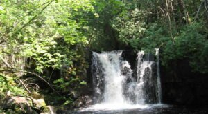 A Trip To Johnson Falls, A Top Secret Waterfall In Northern Minnesota, Is An Amazing Adventure For Nature Lovers