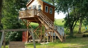 Sleep Underneath The Forest Canopy At This Epic Treehouse In Pennsylvania