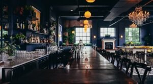 Try The Drinks And Soak Up The Atmosphere At The Bluebird Cocktail Room & Pub In Maryland