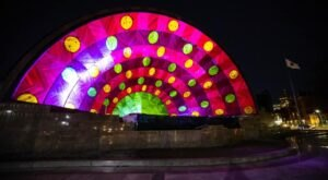 You'll Be Dazzled By The Outdoor Light And Sound Show Happening At The Hatch Shell In Massachusetts