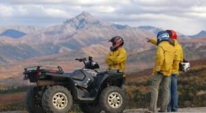 Rent An ATV And Go Off-Roading Through The Forest And Mountains Of Alaska