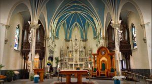 Cathedral of Saint Andrew Is A Pretty Place Of Worship In Michigan