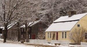 Experience Life In 19th-Century Massachusetts On A Winter Walk Through Old Sturbridge Village