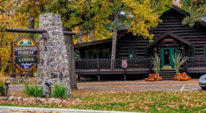 Hidden In The Northern Minnesota Woods, Sherwood Forest Is A Rustic Restaurant With Amazing Food