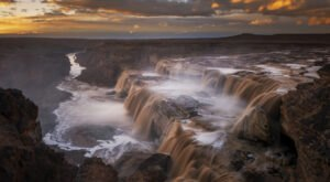 Take A Magical Waterfall Hike In Arizona To Grand Falls, If You Can Find It