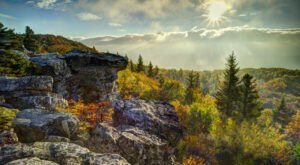 West Virginia's Stunning Bear Rocks Preserve Is Now America's 600th National Natural Landmark
