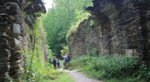 The Gorgeous Half-Mile Hike In West Virginia's Eastern Panhandle That Will Lead You Past A River And Ruins