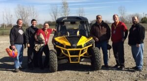 Bring An ATV In Iowa To Ride Around A Former Gypsum Mine That Has Been Transformed Into Trail Heaven