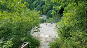 Escape To Table Rock In Ledges State Park For A Beautiful Iowa Nature Scene