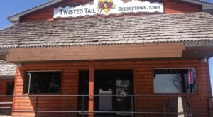 Head To The Twisted Tail Steakhouse & Saloon In Beebeetown For The Best Burger In Iowa