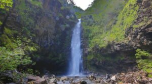 The Alelele Falls Trail In Hawaii Is A Half-Mile Out-And-Back Hike With A Waterfall Finish