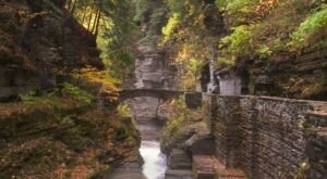 The Gorgeous 4.3-Mile Hike In New York's Robert H. Treman State Park That Will Lead You Past Multiple Waterfalls