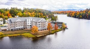 This Gorgeous Adirondack Lodge Is Surrounded By A Scenic Wonderland