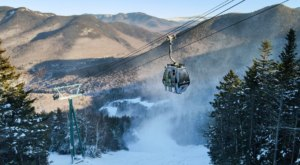 A Cross Between Bike Riding And Skiing, The Sno Go At Loon Mountain In New Hampshire Offers Tons Of Fun