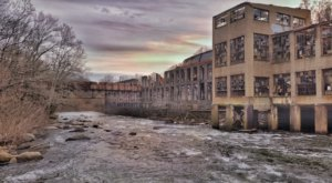 This Eerie And Fantastic Footage Takes You Inside Delaware's Abandoned Bancroft Mills