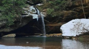 The Anglin Falls Trail In Kentucky Is A 2-Mile Out-And-Back Hike With A Waterfall Finish