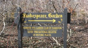 Shakespeare Garden Is A Scenic Outdoor Spot In Illinois That's A Nature Lover's Dream Come True