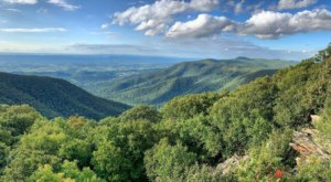 Explore Hundreds Of Acres Of Unparalleled Mountain Views On The Scenic Hawksbill Gap Loop In Virginia