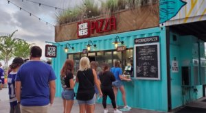 The Shipping Container Pizzeria, The Corners, Might Just Have The Best Detroit-Style Pizza In Florida