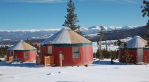 The Snow Mountain Ranch In Colorado Has A Yurt Village That's Absolutely To Die For