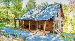 Escape To Cedar River Retreat, An Authentic Log Cabin Surrounded By Beautiful Virginia Nature
