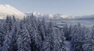 Fly High Above Winter In Alaska As You Watch This Breathtaking Drone Video