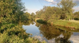 Enjoy Some Peace And Quiet At The Scenic Old Settler's Park In North Dakota