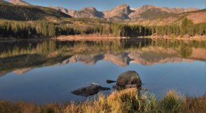 Escape To Sprague Lake For A Beautiful Colorado Nature Scene