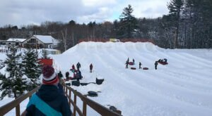 This Fantastic 50-Year-Old Tubing Spot In New Hampshire Is One Of The Best Places To Zip Through The Snow