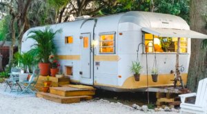 Kick Back In A Vintage 1971 Airstream In Florida For The Ultimate Boho Getaway
