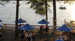 Enjoy A Delicious Meal On A 1,700-Acre Lake When You Dine At The Boathouse Restaurant In Virginia