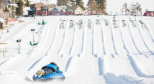 With 12 Lanes, Maryland's Snowtubing Course Offers Plenty Of Space For Everyone