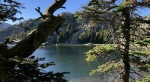 Escape To Beauty Lake For A Beautiful Wyoming Nature Scene