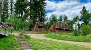 Spend The Night At A Working Guest Ranch In The Middle Of The Idaho Mountains