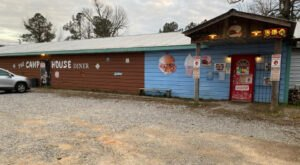 Filled With Quirky Fun And Food, The Camphouse Diner Is One Of Alabama's Most Unique Dining Experiences