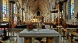 St. Anthony's Catholic Church Is A Pretty Place Of Worship In New Jersey