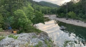 Reconnect With Nature Along The Gorgeous Eagle Rock Backpacking Trail In Arkansas